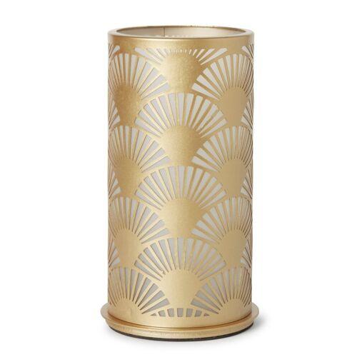 Duni Kerzenhalter Peacock Metall Gold 140x75 mm 1 St. 1 St.
