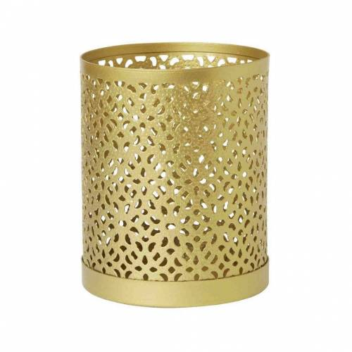 Duni Kerzenhalter Bliss Metall Gold 100x80mm 1 St.