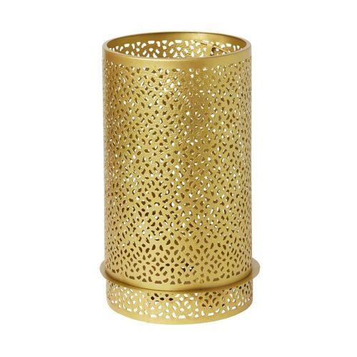 Duni Kerzenhalter Bliss Metall Gold 200x120mm 1 St.