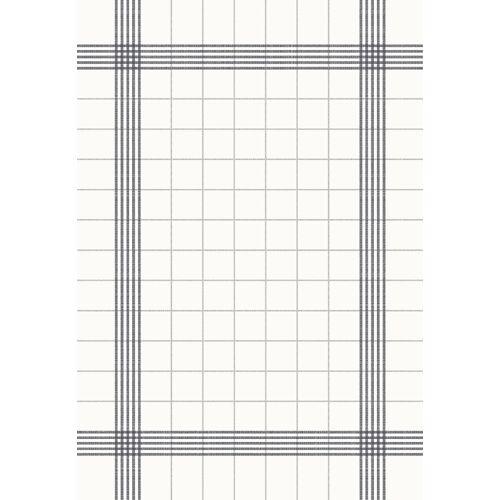 Duni Towel Napkin weiß/grau 38x54 cm 50 St.
