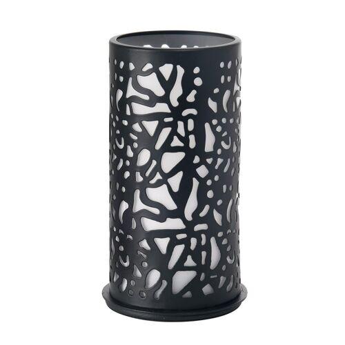 Duni Kerzenhalter Twist Metall schwarz 140 x 75 mm 1 St.