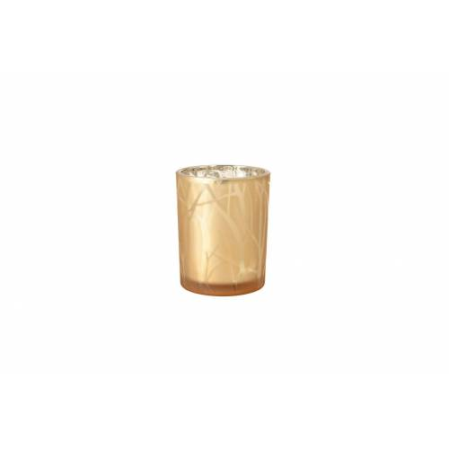 Duni Kerzenhalter Shimmer sand 100 x 80 mm 1 St.