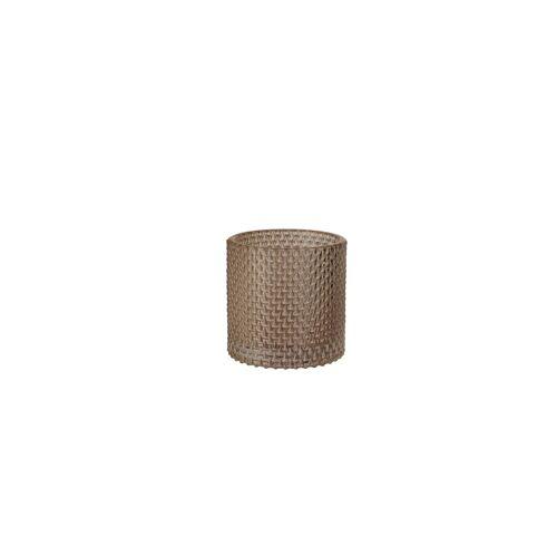 Duni Kerzenhalter Calm greige 80 x 80 mm 1 St.