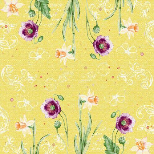 Duni Klassik Servietten Spring Lilies 40x40 4lag 50St.