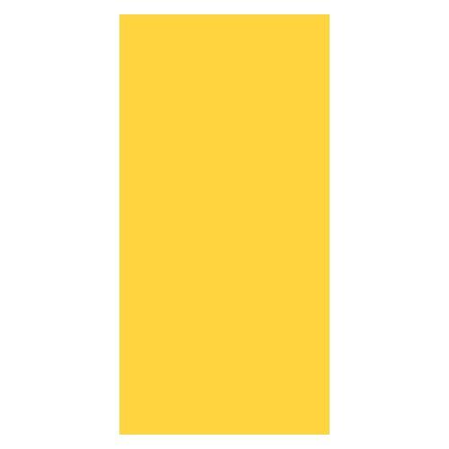Duni Servietten für Serviettenspender, gelb 33x33 1lag 750St.