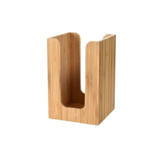 Duni Serviettenspender für 20x20cm Servietten Bambus 11x11cm 1 St.