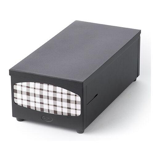 Duni Serviettenspender schwarz für Servietten 33x33 1Stück