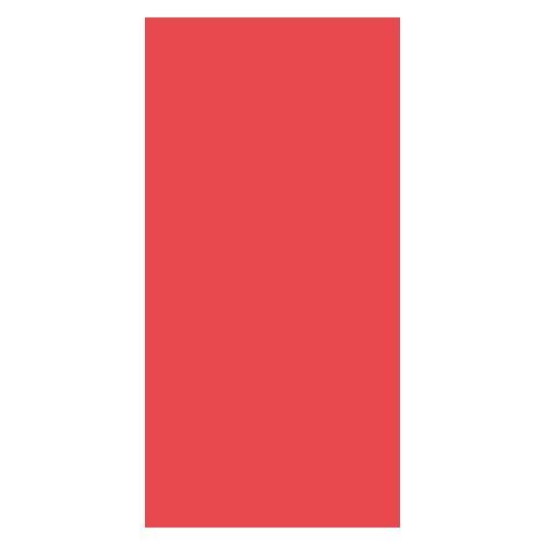 Duni Servietten für Serviettenspender, rot 33x33 1lag 750St.