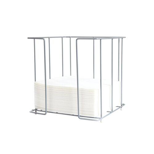 Duni Serviettenspender chrom-metallic für Servietten 40x401Stück