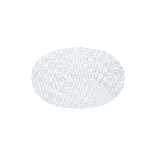 Duni RP Plattenpapier oval Papier weiß 30x45cm 500 St.