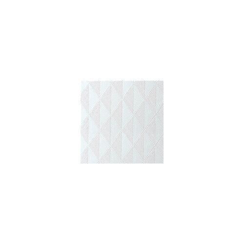 Duni Elegance Servietten Crystal weiß 40x40  40St.