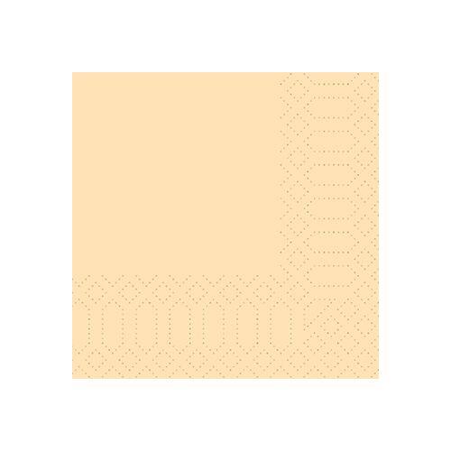 Duni Zelltuch Servietten cream 24x24 3lag 250St.
