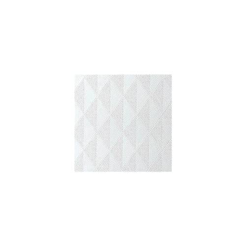 Duni Elegance Servietten Crystal weiß 48x48  40St.