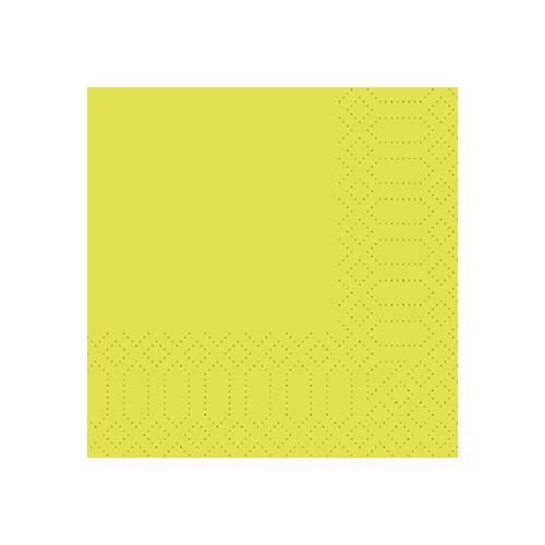 Duni Zelltuch Servietten kiwi 24x24 3lag 250St.