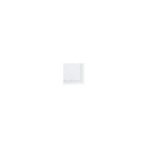 Dunicel Servietten Weinranke weiß 41x41 50 Stück