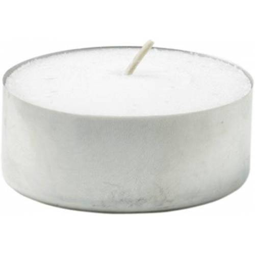 Duni Teelicht Brennd 4h weiß 39 mm 50St.