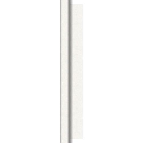 Duni Tischdeckenrolle Dunisilk Linnea weiß 1,18x25 m 1 St.
