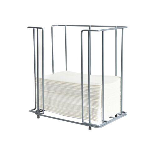 Duni Serviettenspender chrom-metallic für Servietten 40x40 1/8 1Stück