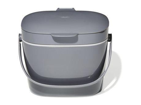 OXO Kompostspand - 6,62 liter - ABS-plastik - Grå