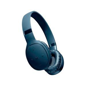 Cellular Line AQL Kosmos Høretelefoner - Spilletid: 12,5 timer - Ladetid: 2 timer - Blå