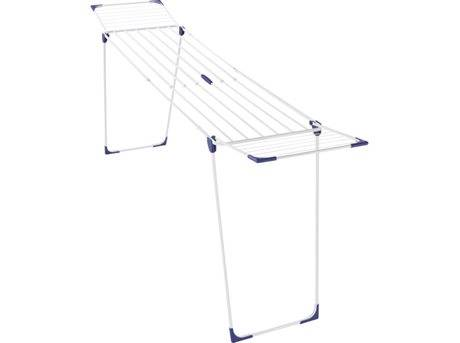 Leifheit Classic 230 Extend Tørrestativ - H 98 x B 56 x L 117-260 cm - Metal - Hvid/blå