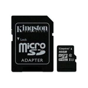 RING Kingston Micro SD-kort - 16 GB - Passer til Android telefoner