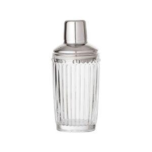 Bloomingville Shaker - 375 ml - Glas/rustfrit stål - Klar