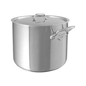 Mauviel Cook Style Suppegryde - 9,2 liter - Rustfrit stål