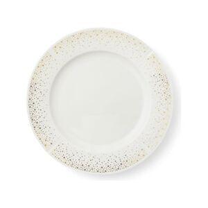 Rosendahl Grand Cru Moments Tallerken - Ø 27 cm - Porcelæn - Hvid med guld