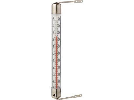Termometer Udendørs - Hvid/Stål