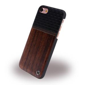 Uunique - Speedway UUFMIP7HS004 - Hard Cover - Apple iPhone 7 8 - Brown/Grey