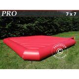Dancover Hoppepude 7x7m, Rød, udlejningskvalitet