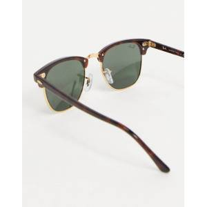 Ray-Ban Clubmaster Solbriller fra Ray-Ban 0rb3016 w0366 49-Brun Brun
