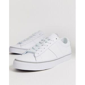 Polo Ralph Lauren Sayer skind sneakers med polospiller-logo i hvid fra Polo Ralph Lauren Hvid