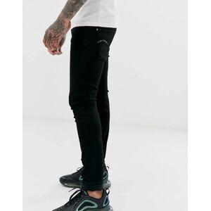 G-Star - Skinny jeans i sort W32 L32