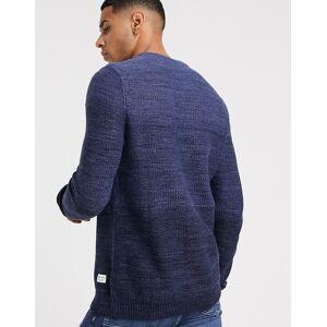 Jack & Jones - Essentials - Fadet blå trøje XL