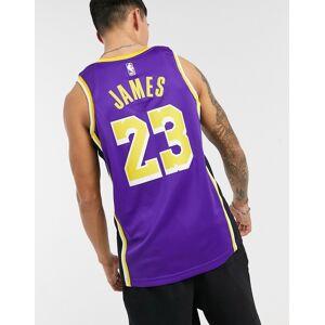 Nike Basketball - Jordan LA Lakers NBA Swingman - Lilla basketballtrøje S