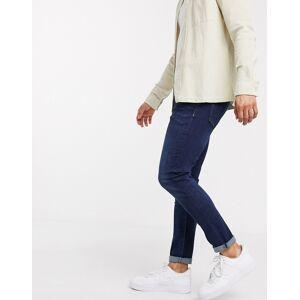 River Island - skinny jeans i mørkeblå W34 Reg