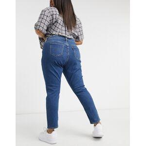 Levis Levi's Plus 311 Formgivende skinny jeans i mellemblå vask 50 L34