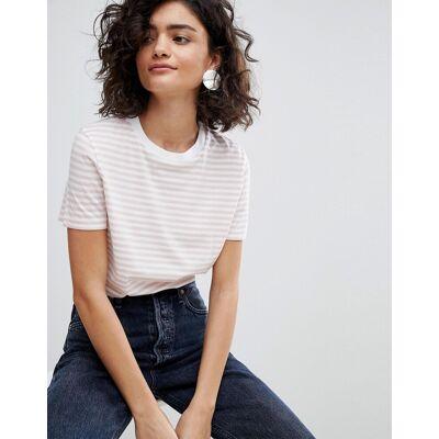 Selected Økologisk T-shirt i stribet bomuld fra Selected femme-Multifarvet - Børnetøj - Selected