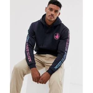 Body Glove - Sharpie Fade - marineblå hættetrøje med rygprint Marineblå