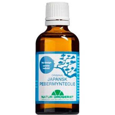 Natur - Drogeriet A/S Japansk Pebermynteolie Kosttilskud 50 ml