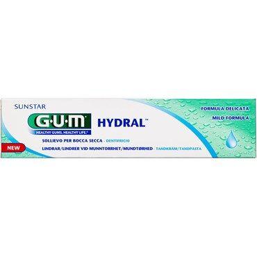 GUM Hydral Tandpasta Følsom/ Tør Mund 75 ml