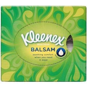 Kleenex Balsam Cube Box 56 stk