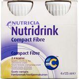 Nutridrink Compact Fibre Vanille 4 x 125 ml