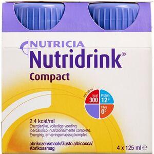 Nutridrink Compact Abrikos 4 x 125 ml