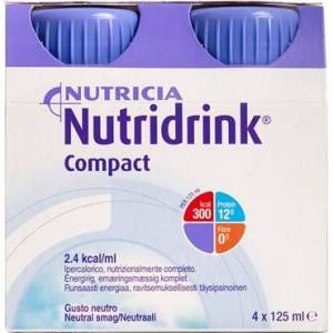 Nutridrink Compact Neutral 4 x 125 ml
