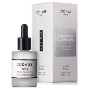 Codage Serum No. 4 Anti Spots & Ligthening 30 ml
