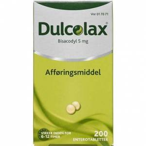 Dulcolax 5 mg 200 stk Enterotabletter