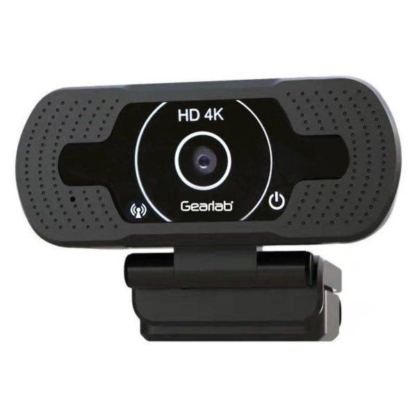 Gearlab G63 HD Webcam, Sort
